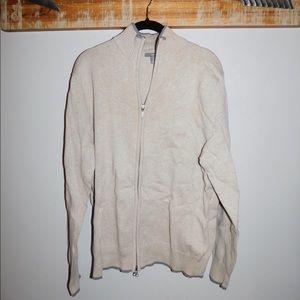 Men's sweater zip-up
